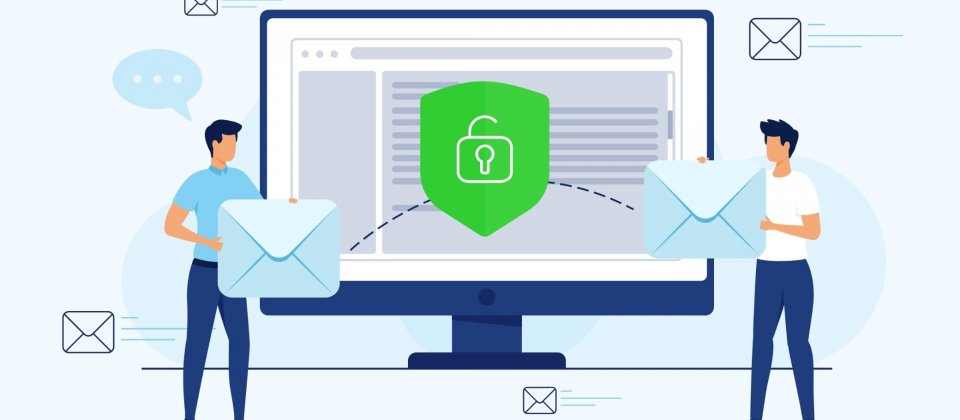 Talkey comes with an update which makes secure e-mail communication easy